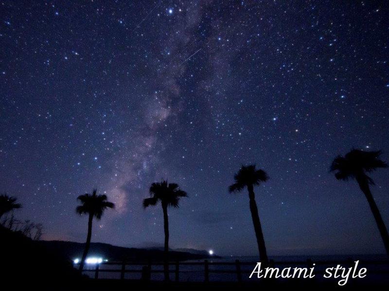 大浜海岸 天の川 ブルーライト奄美 AmamiStyle