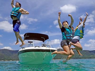 奄美大島 海遊び アリパチーノ