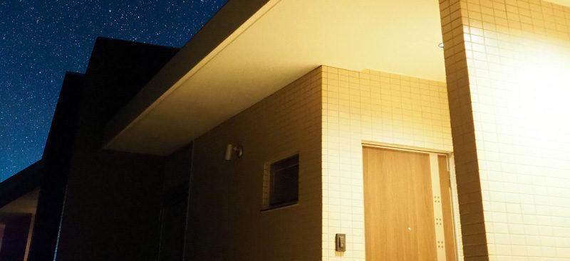 ブルーライト奄美 宿泊棟玄関