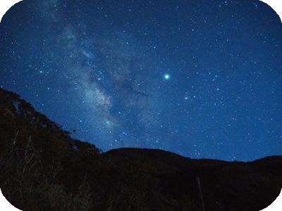 ブルーライト奄美 住用の星空