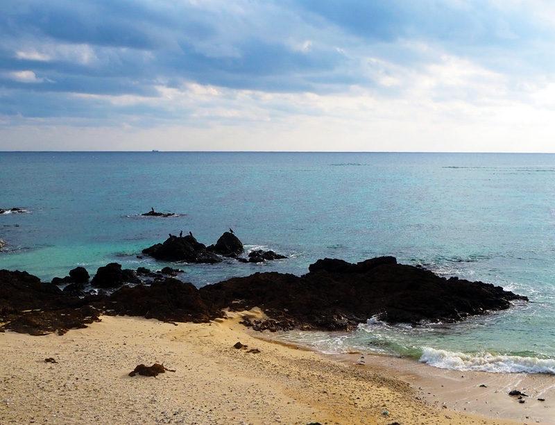 奄美大島 用安海岸 海