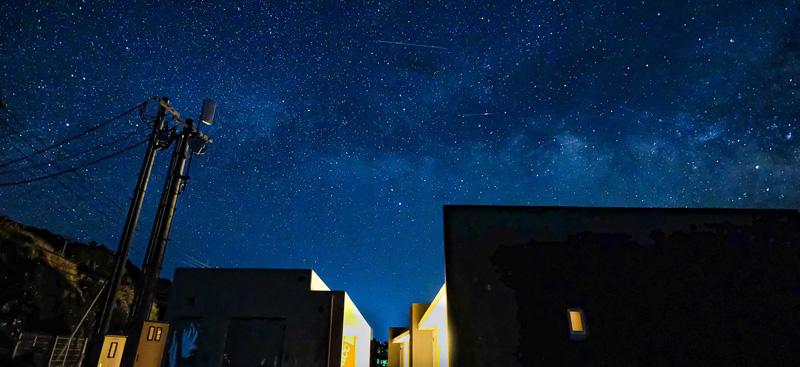 ブルーライト奄美 2月の星空